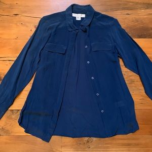 FRENCH CONNECTION 100% Silk Blouse